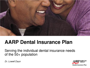 Aarp Dental Insurance
